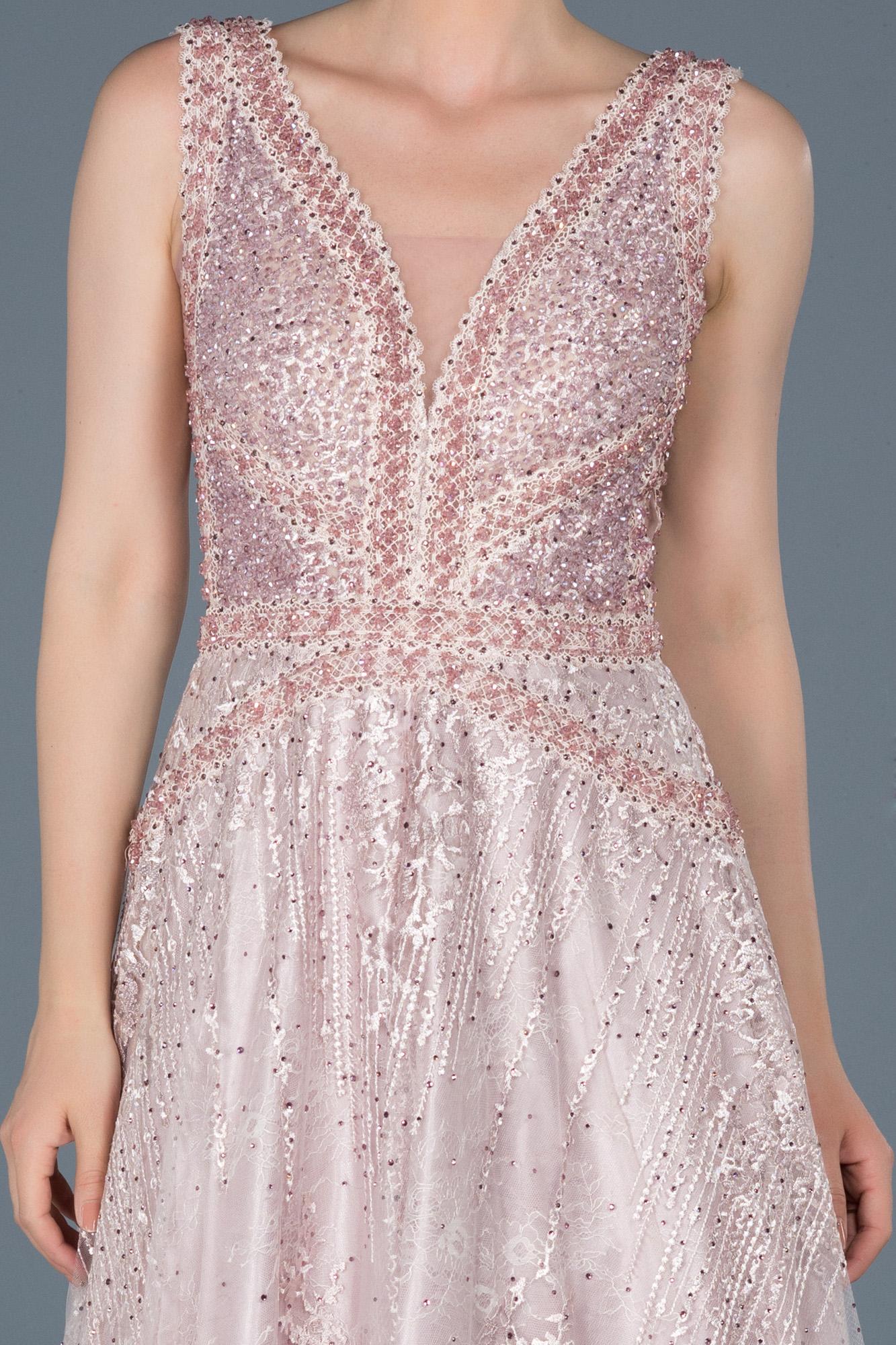 designer abendkleid lang rosa abu799  abiyefon